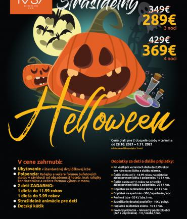 Scary Halloween at hotel RYSY (28.10.-1.11.2021)