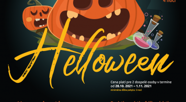 Strašidelný Halloween v hoteli RYSY (28.10.-1.11.2021)